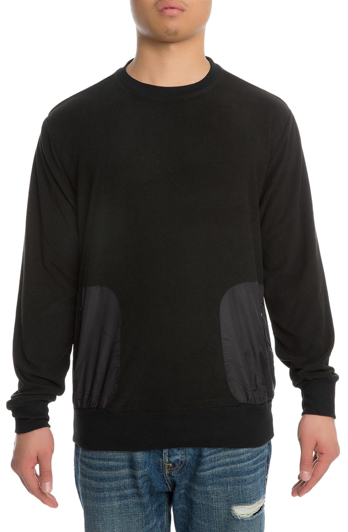Image of The Monterey Crewneck Sweater in Black