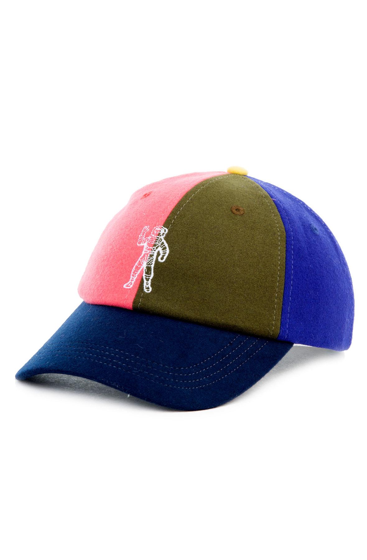 Image of The BB Astro Split Snapback Hat in Navy Blazer