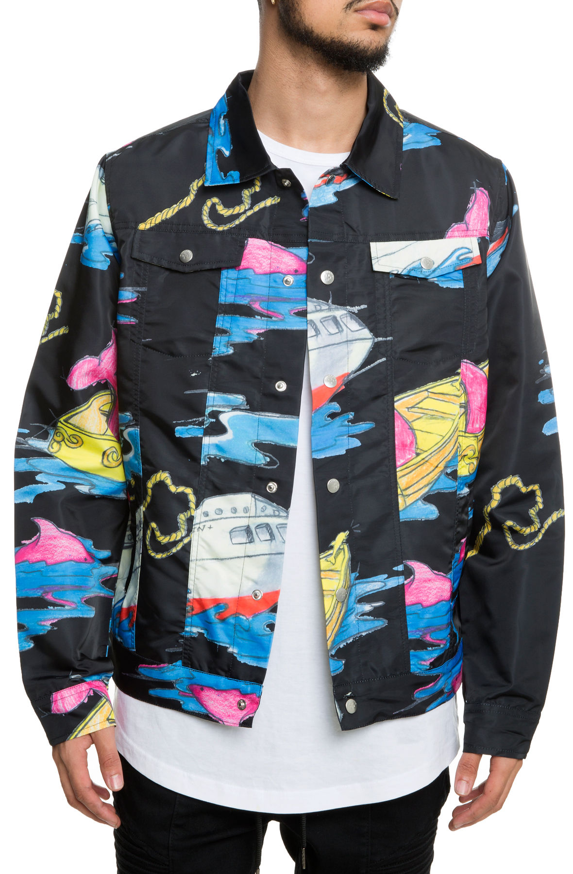 Image of The Sail Away Jacket in Black