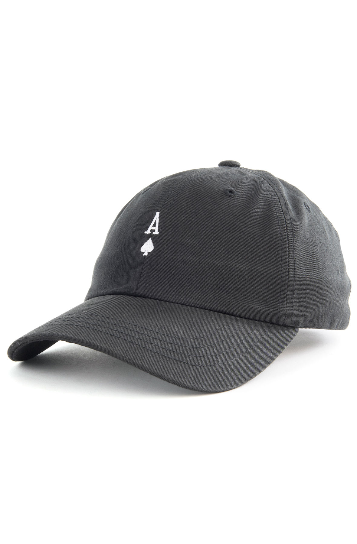 Image of The Ace of Spades Dad Hat in Black