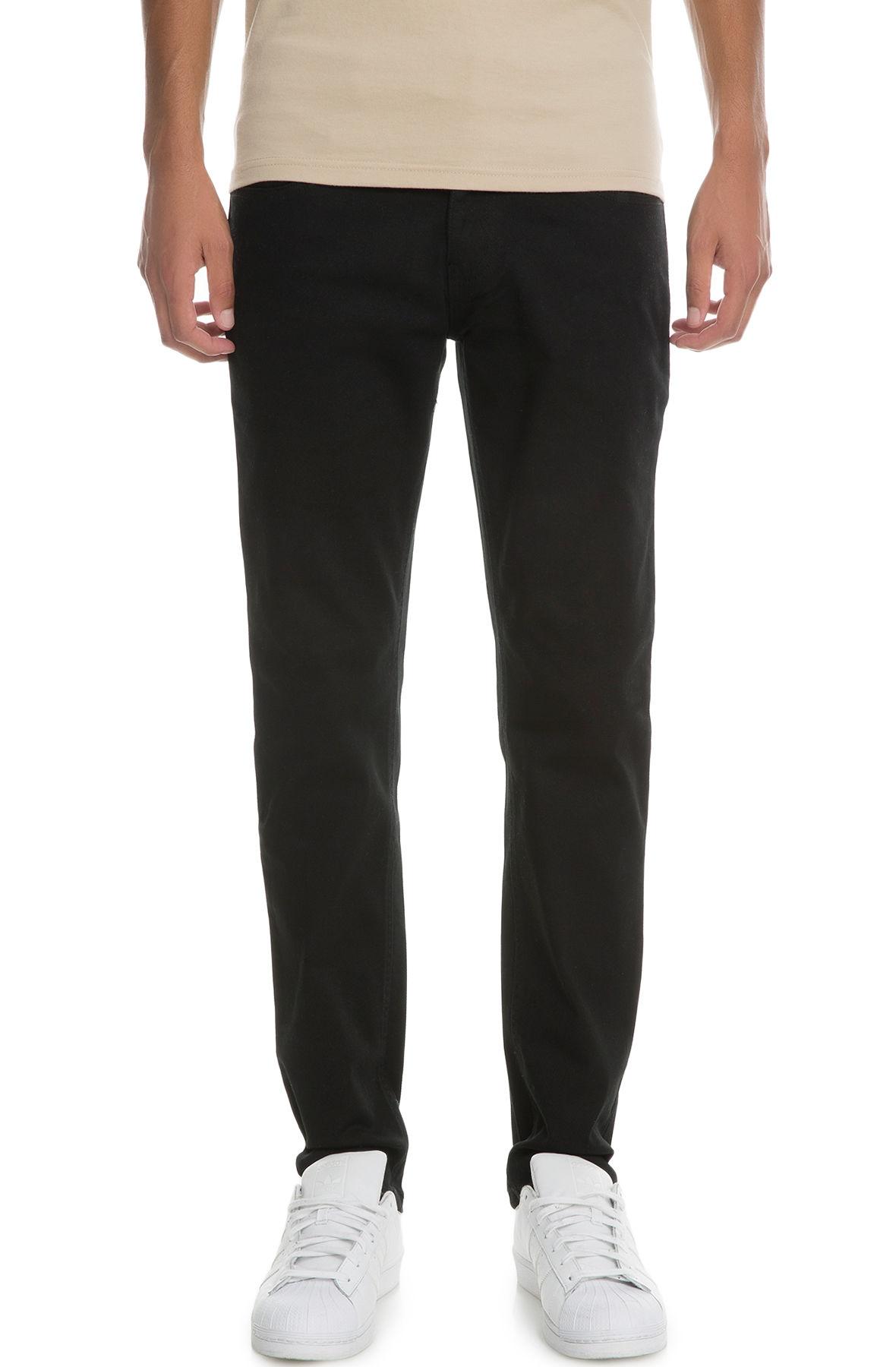 Image of The VB Basic Skinny Jeans in Black