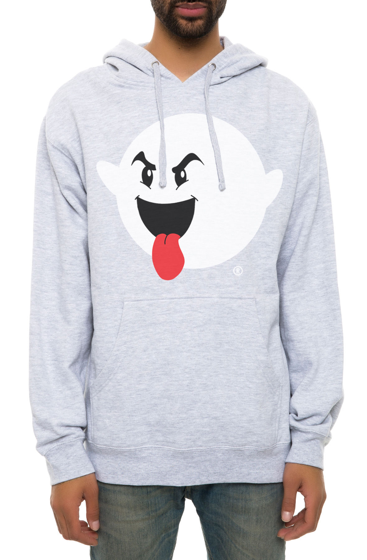 Image of The Boogie Logo Hoodie in Heather Grey