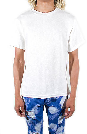 Image of Venice Knitted Short Sleeve Ivory