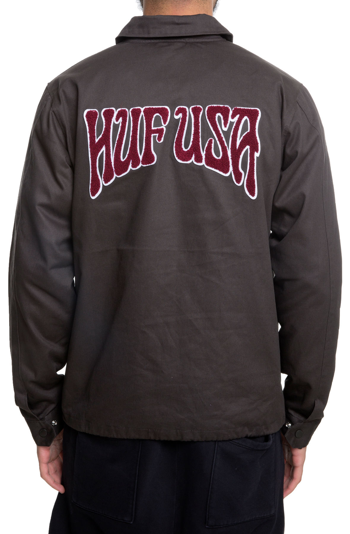 Image of The Dropout Coaches Jacket in Licorice