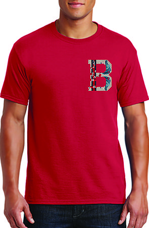 Image of Bucci B Red Tee