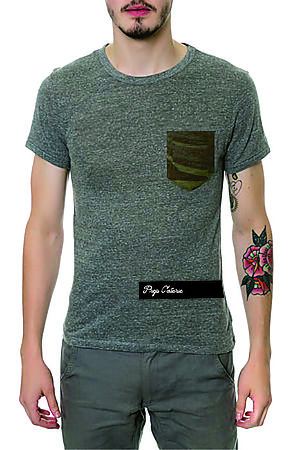The Prep Coterie Camo Pocket T-shirt in Green