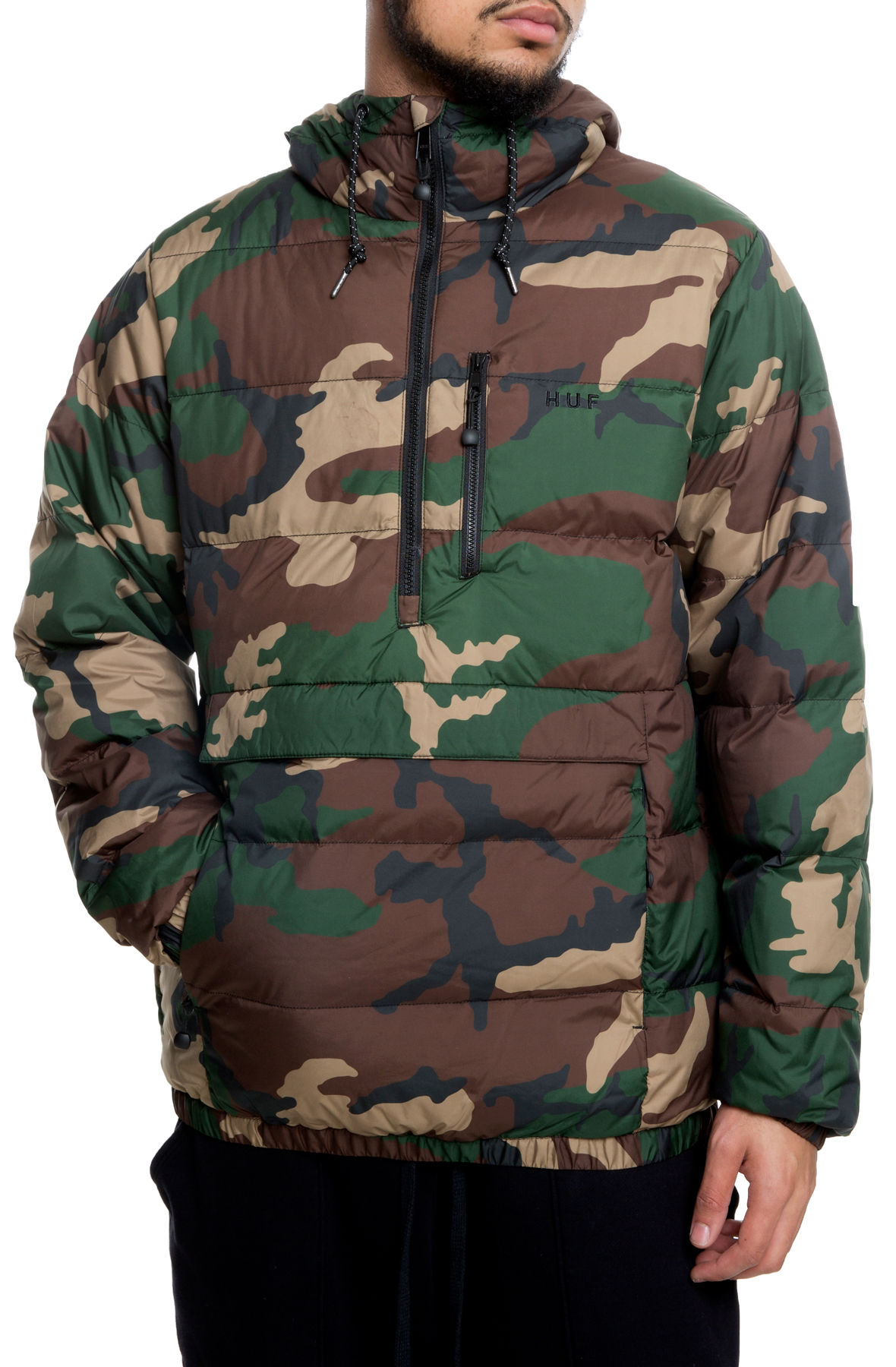 Image of The Everest Jacket in Woodland Camo
