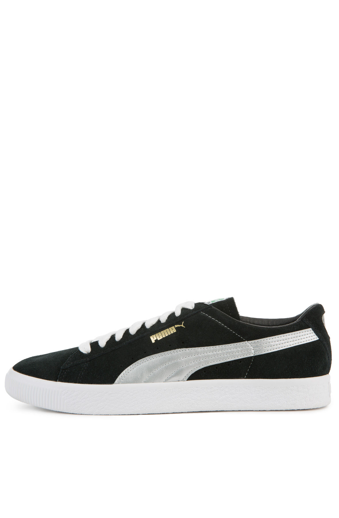 silver puma sneakers