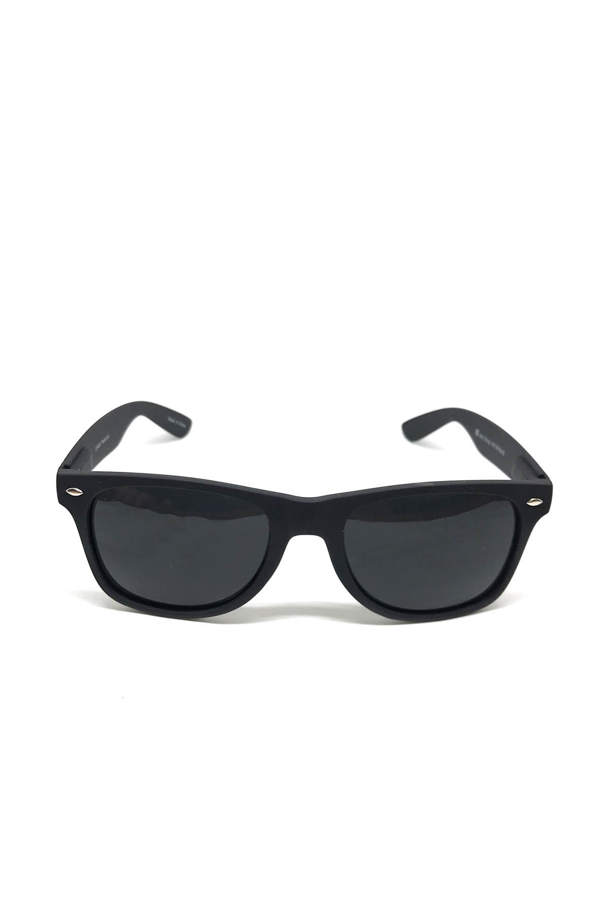 Image of Matte Black Wayfarer Sunglasses