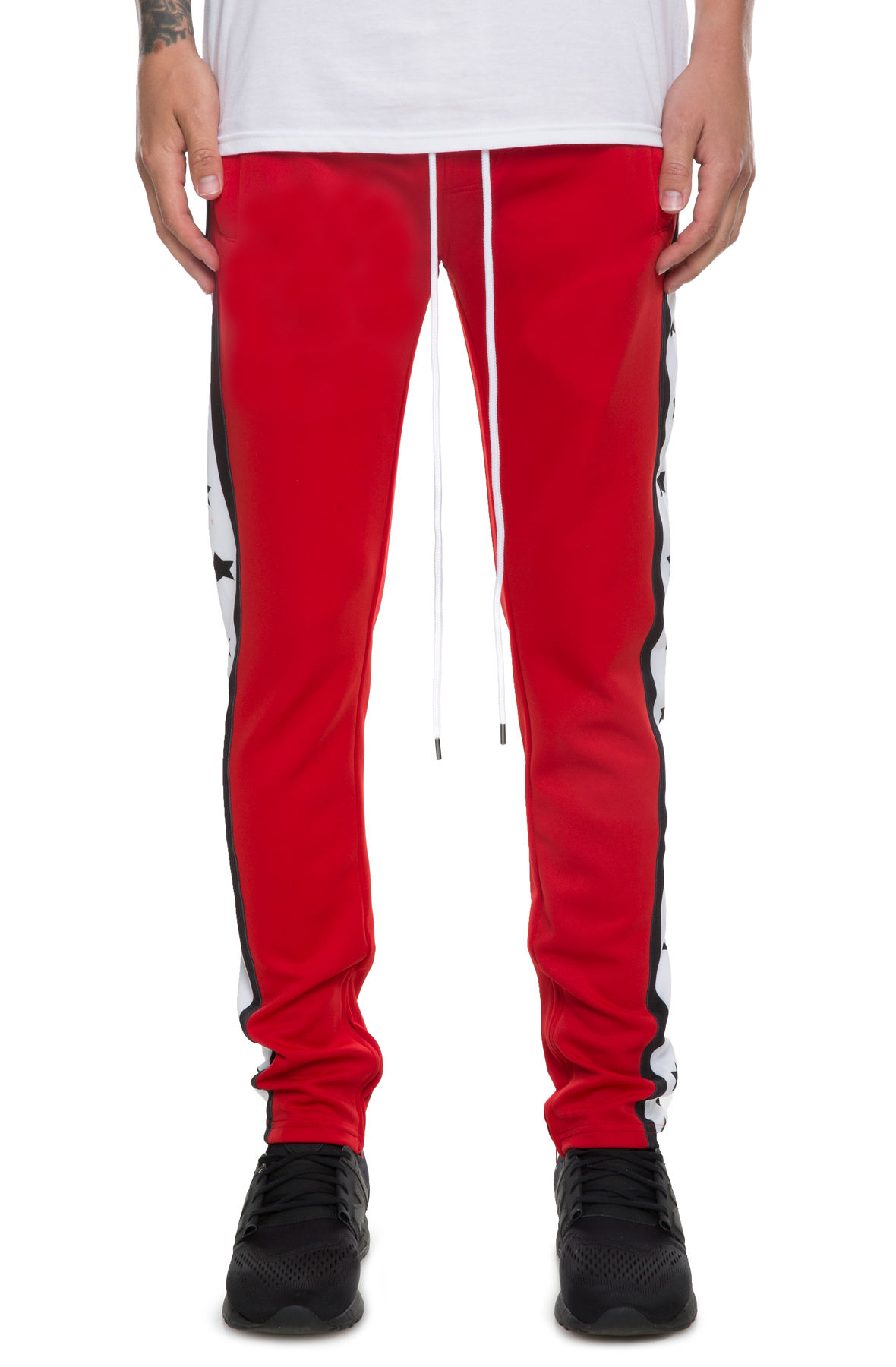 Image of The Independence Track Pants in Red