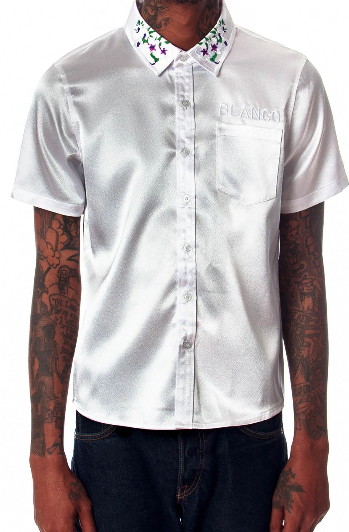 Image of Blanco White Collar SS Shirt (Perico White)