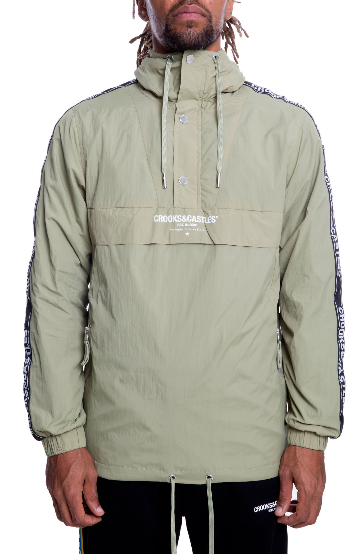 Image of The Core Taped Anorak in Olive