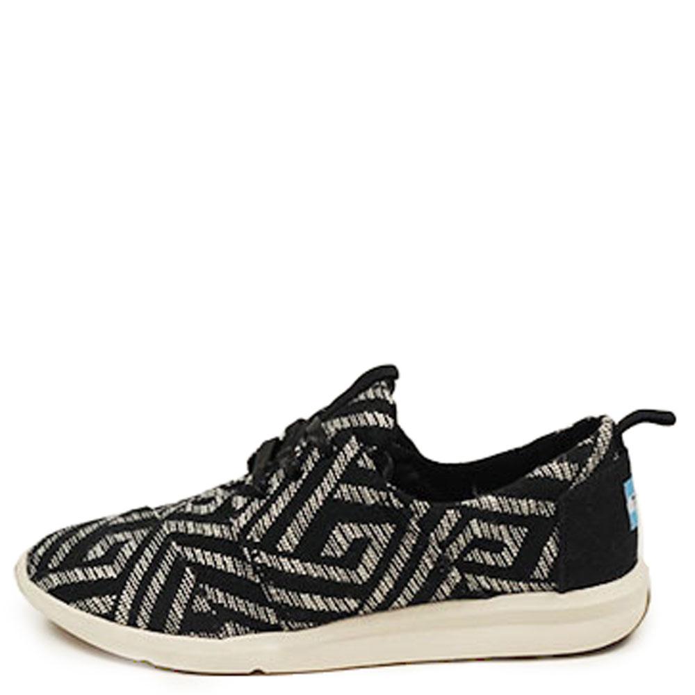 Women's Del Rey Sneaker Black Tribal Woven