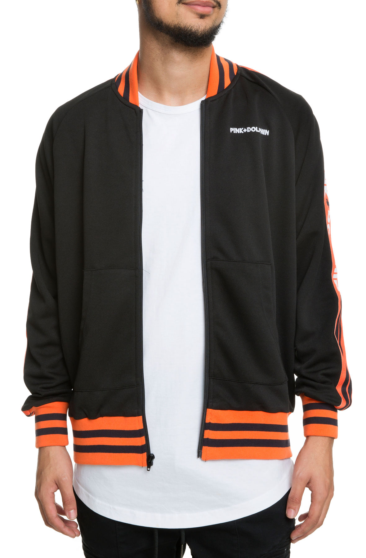 Image of The Script Track Jacket in Black