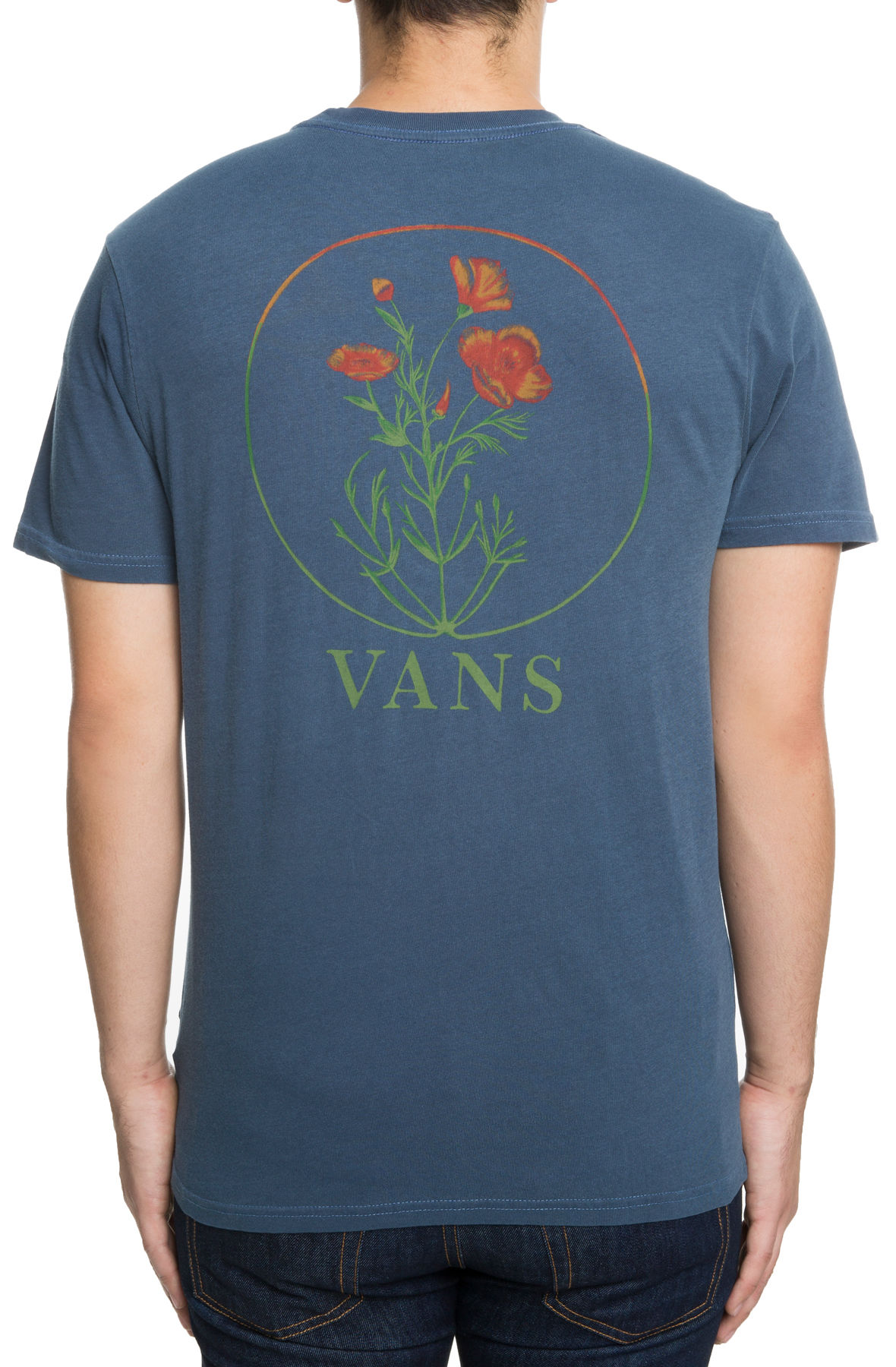 Image of The Vintage California Bred Tee in Dress Blues