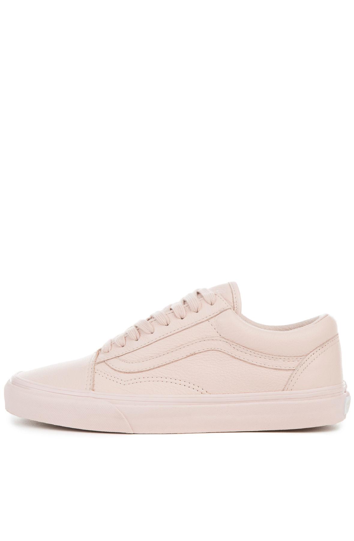 3717fb7cd6f721 VANS Sneaker Old Skool Leather Mono Sepia Rose Pink