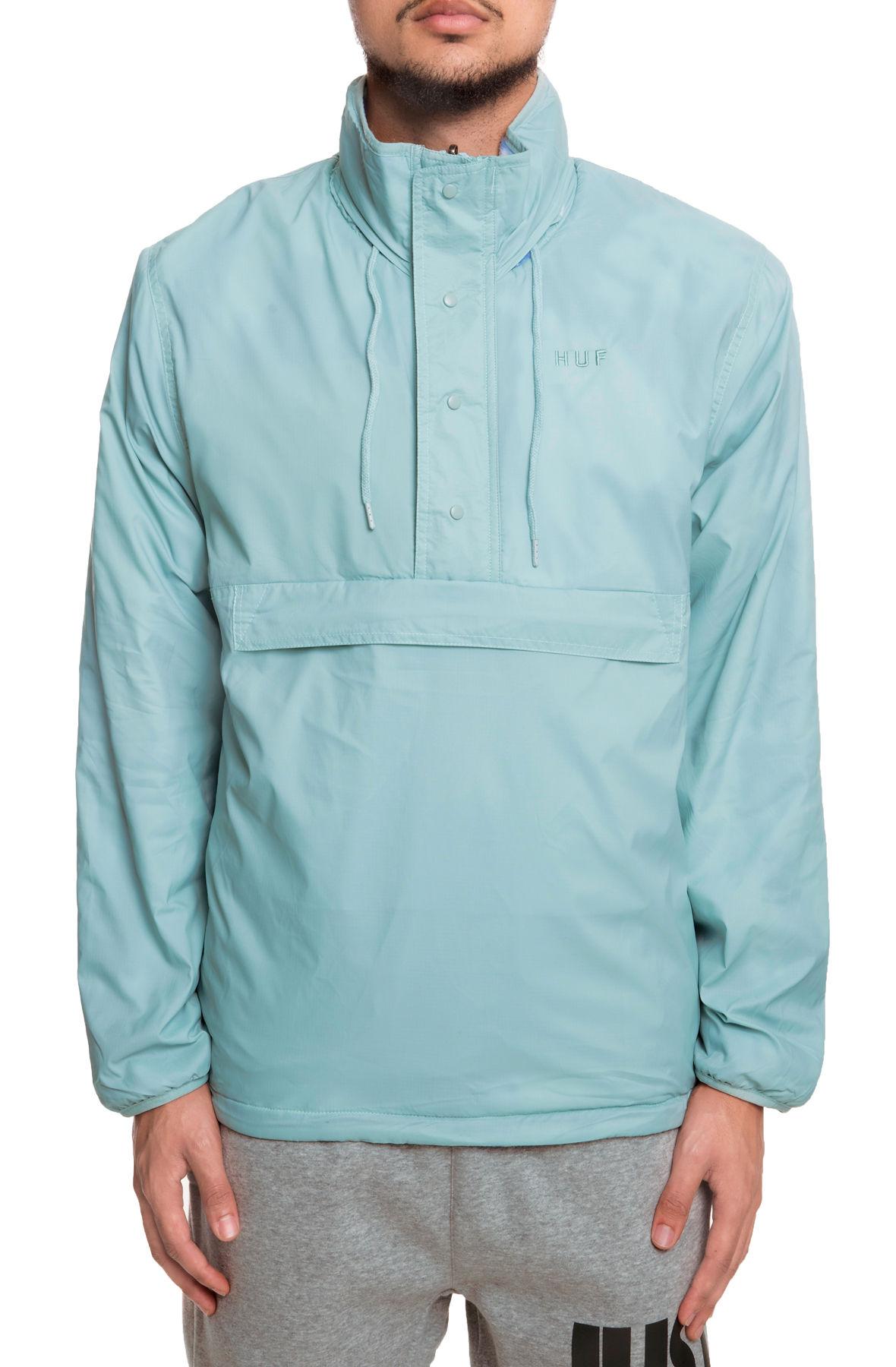 Image of The Kumo Reversible Quarter Zip Jacket in Cloud Dye Blue