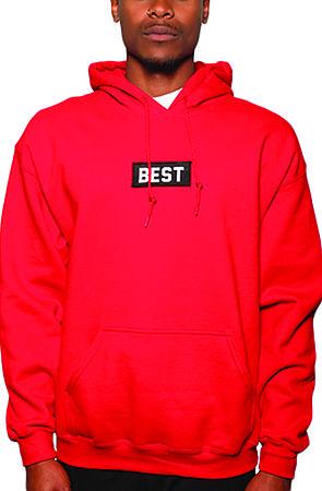 Best Box Red Hoodie