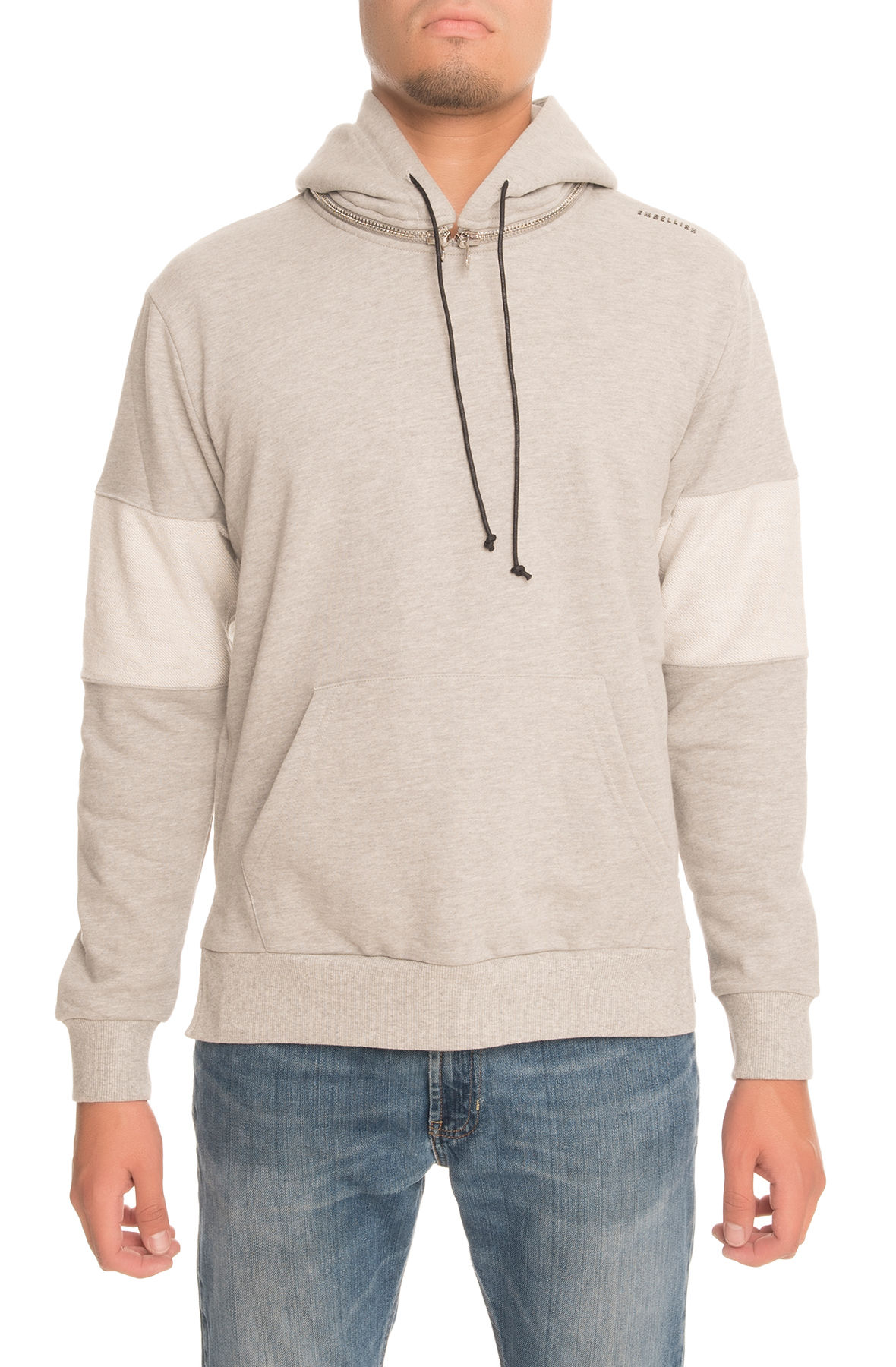 The Superior Hoodie in Heather Grey