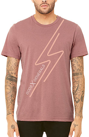 The Neon Tee in Blush