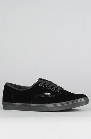 7de7cb8ade881c The Authentic Lo Pro Sneaker in Black Velvet