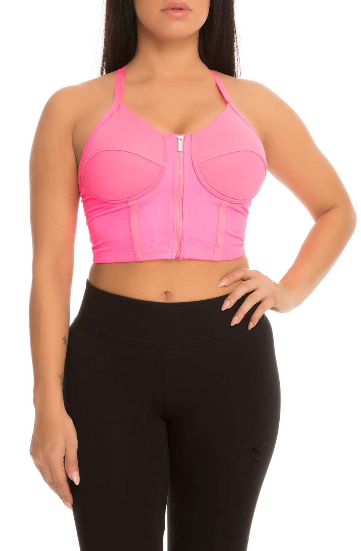 the explosive sports bra in pink