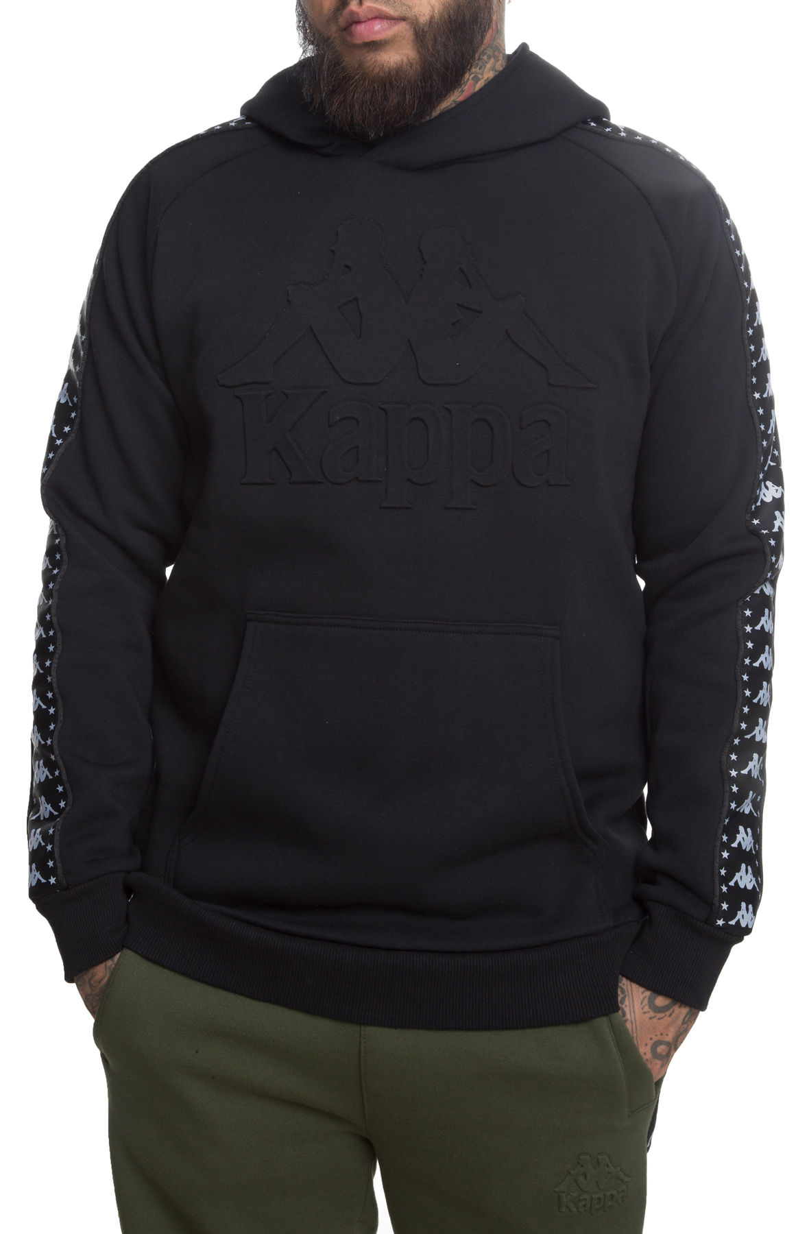 Image of The Authentic Bzaleh Pullover Hoodie in Black and White