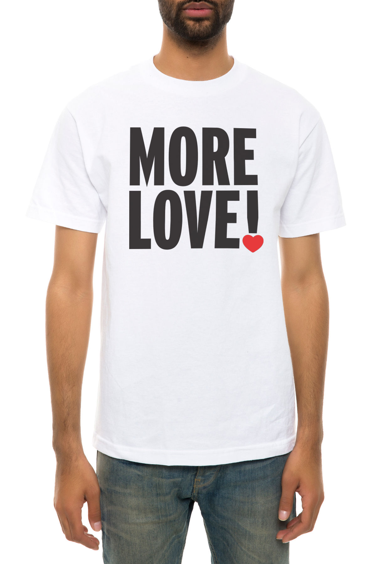 Image of The More Love Tee in White