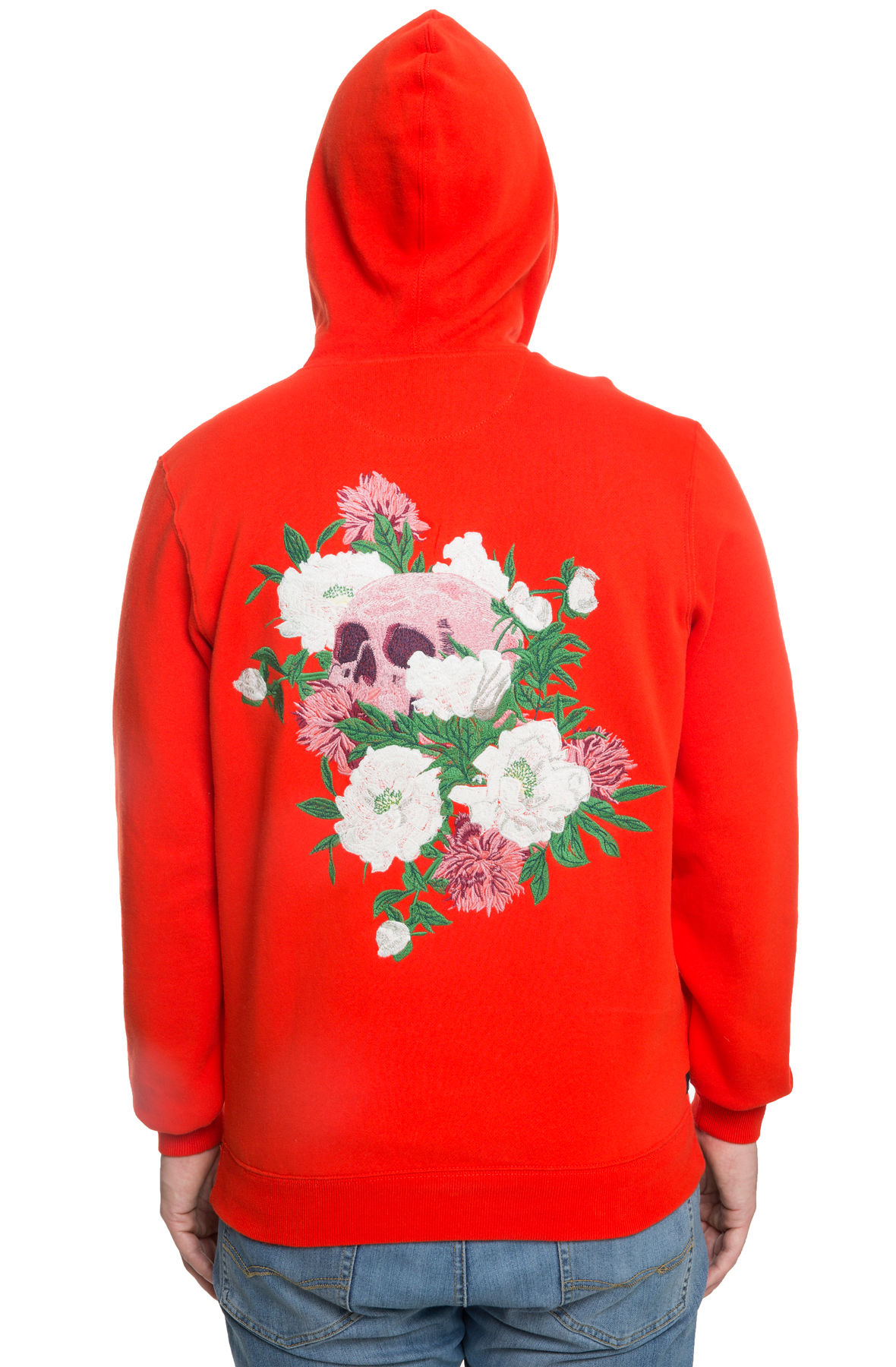 Image of The In Spite Of It All Hoodie In Red