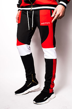Image of Switchblade Track pants Red