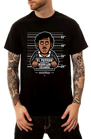 the pablo convicts t-shirt in black