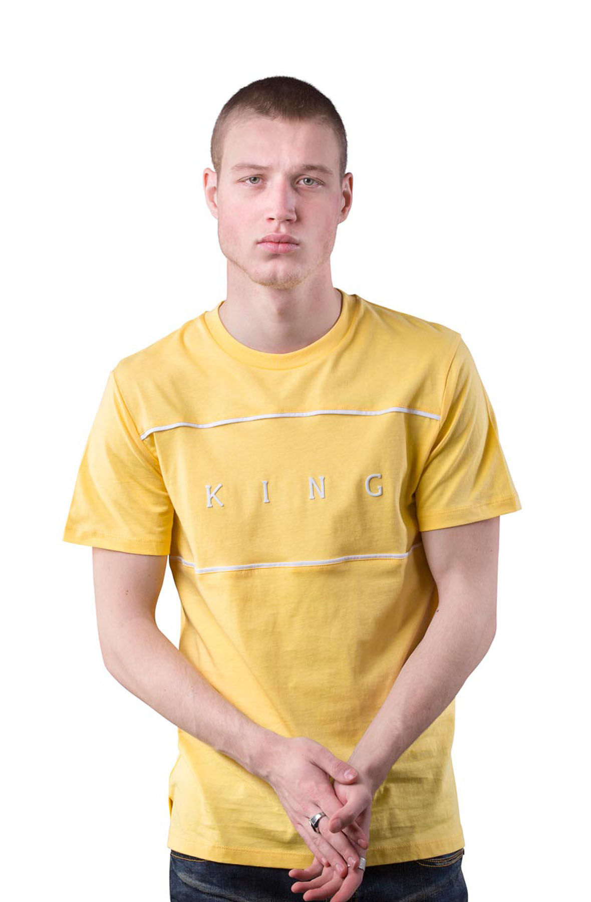 Image of Stepney T-shirt - Citrus