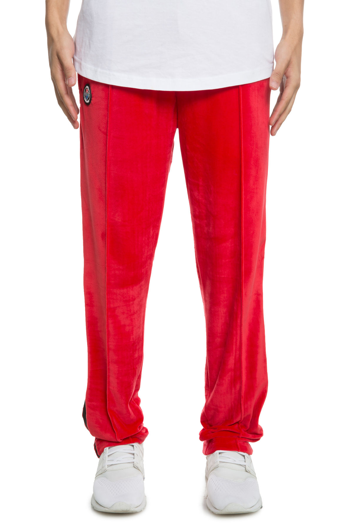 Image of The Tech Velour Pants 3.0 in Red
