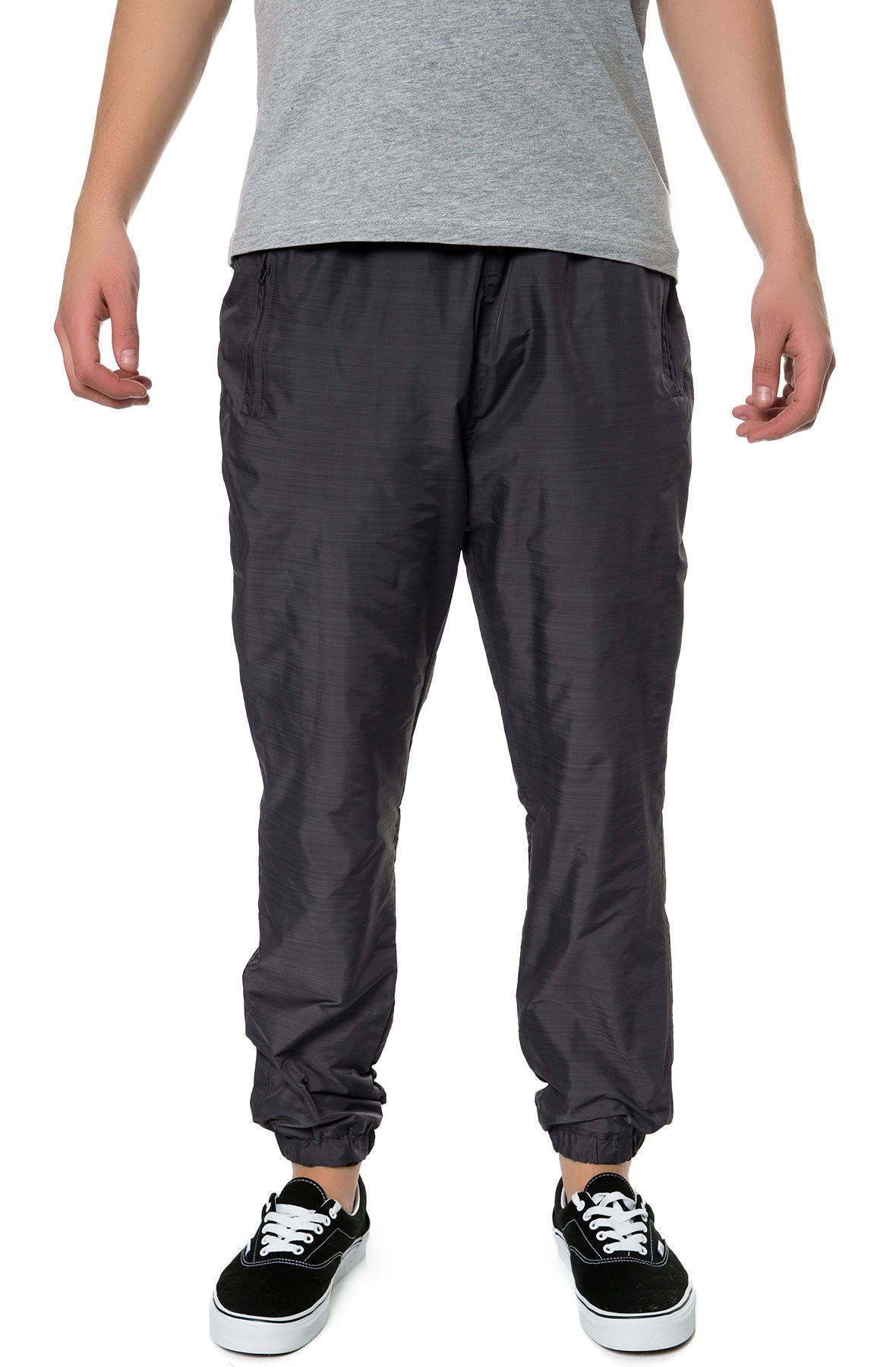 Image of The Gates Nylon Pants in Black