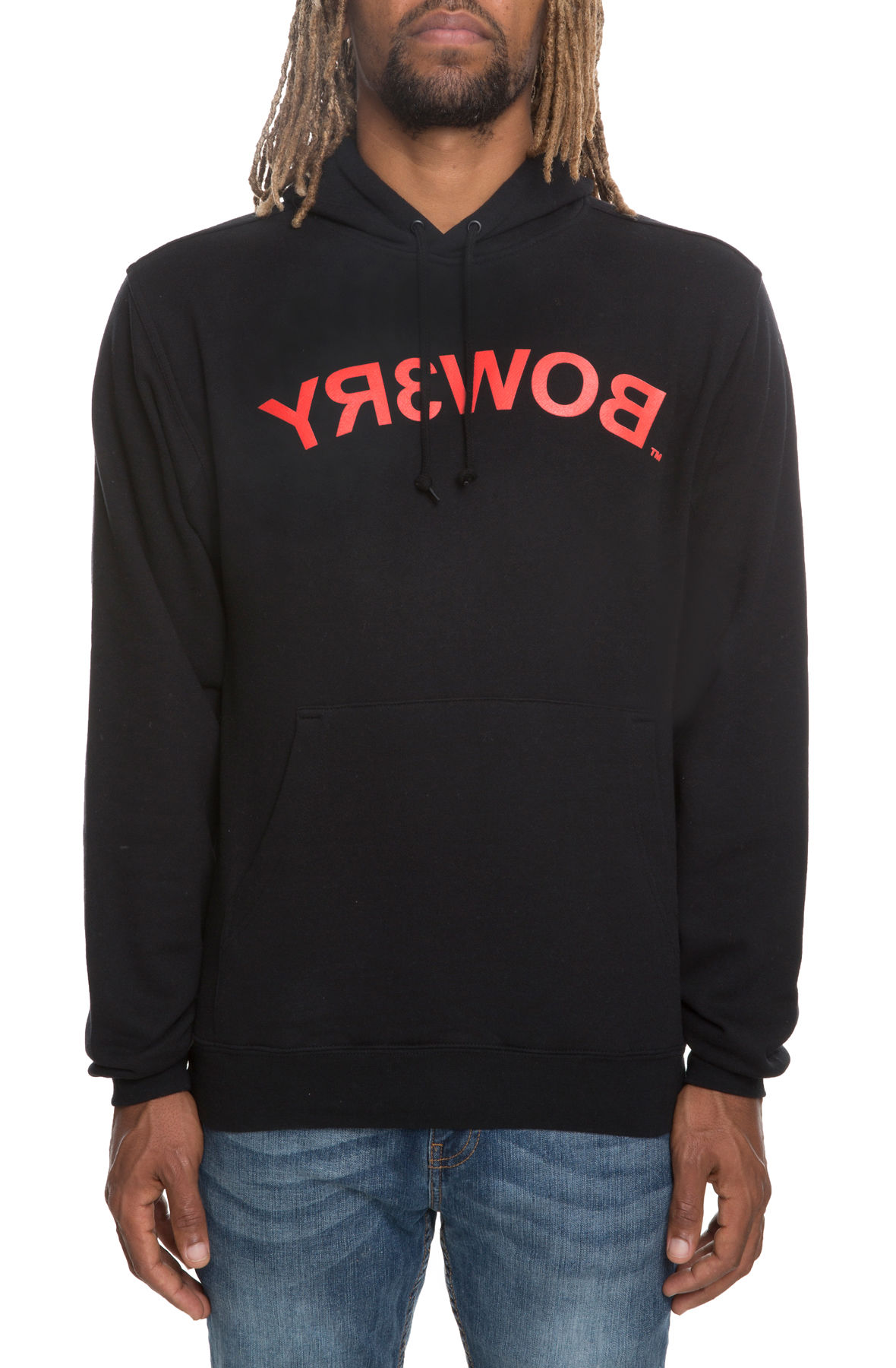 Image of The BOW3RY Logo Hoodie in Black