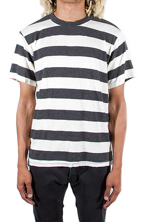 Image of Venice Knitted Short Sleeve Stripe