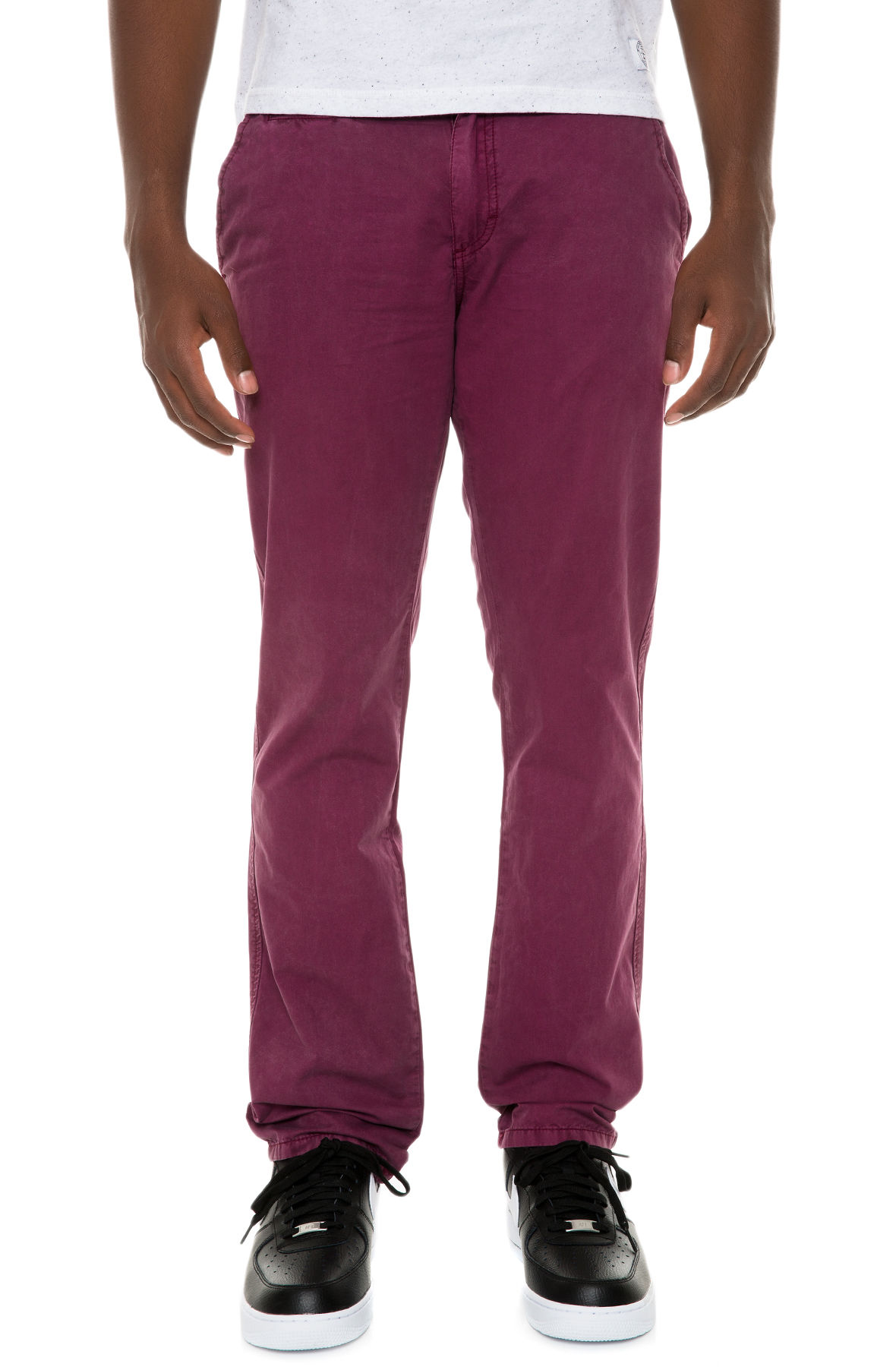 Image of The Hawke Pants in Bordeaux
