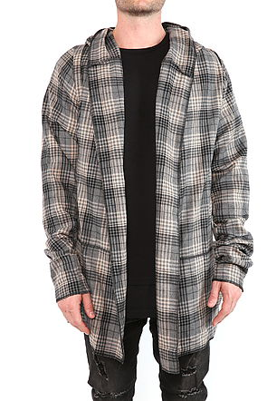 piece six - hooded cloak