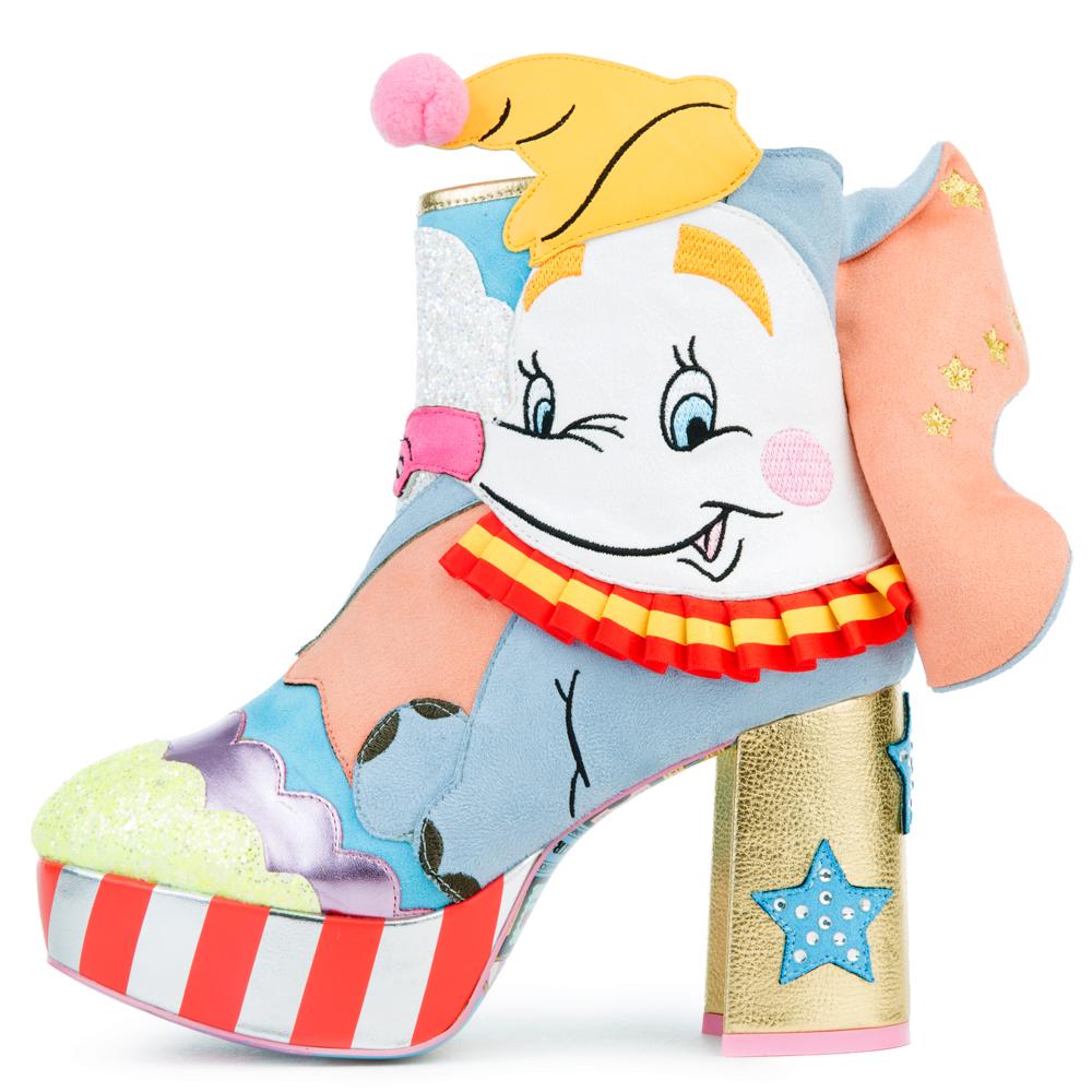 Image of Disney's Dumbo x Irregular Choice Sweet Little Dumbo High Heel Boots
