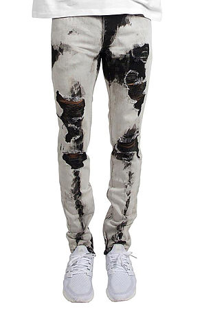 Image of 501 Ankle Zipper Jeans Bleach
