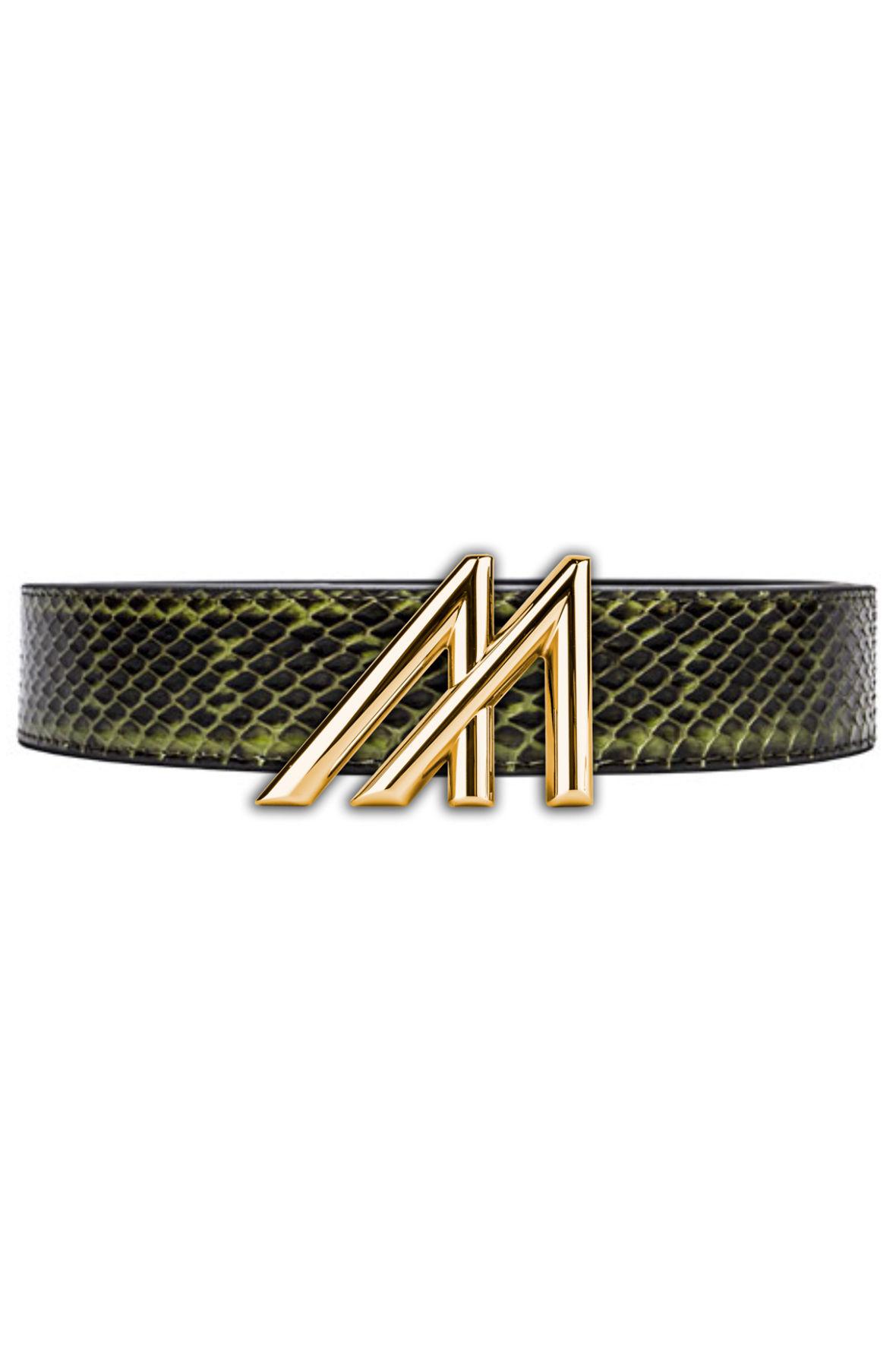 Mint Olive King Cobra Belt - Olive M