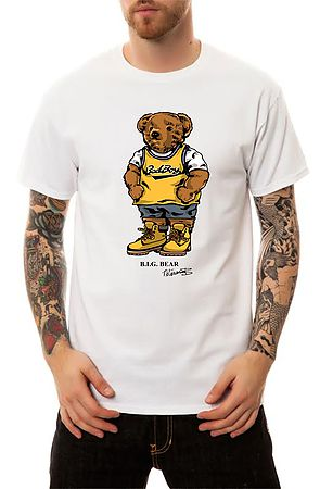 Image of The Biggie Bear T-Shirt in White