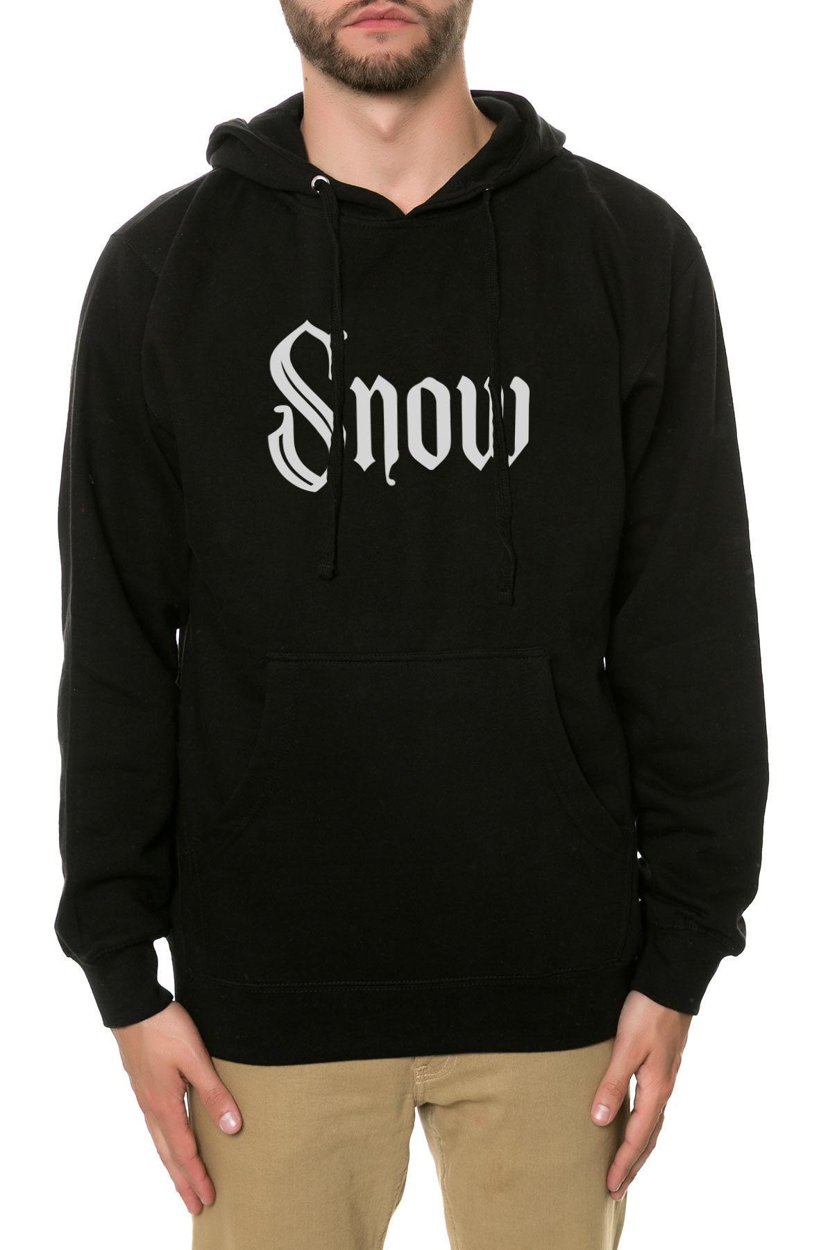 Image of The Snow Girl Hoodie in Black