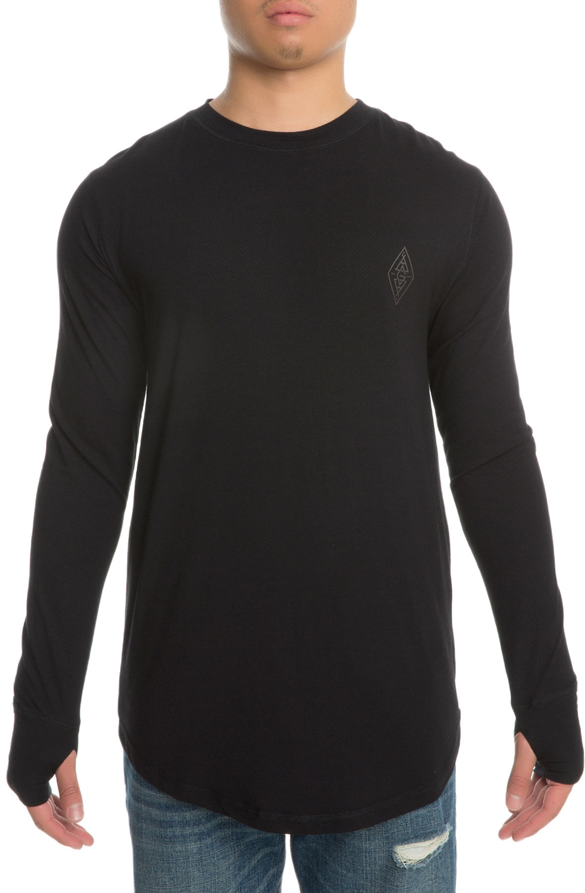 Image of The Basin Long Sleeve in Black