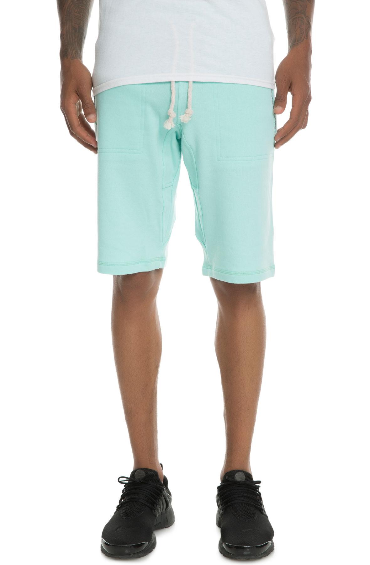 Image of The Laurencio Fleece shorts in Mint