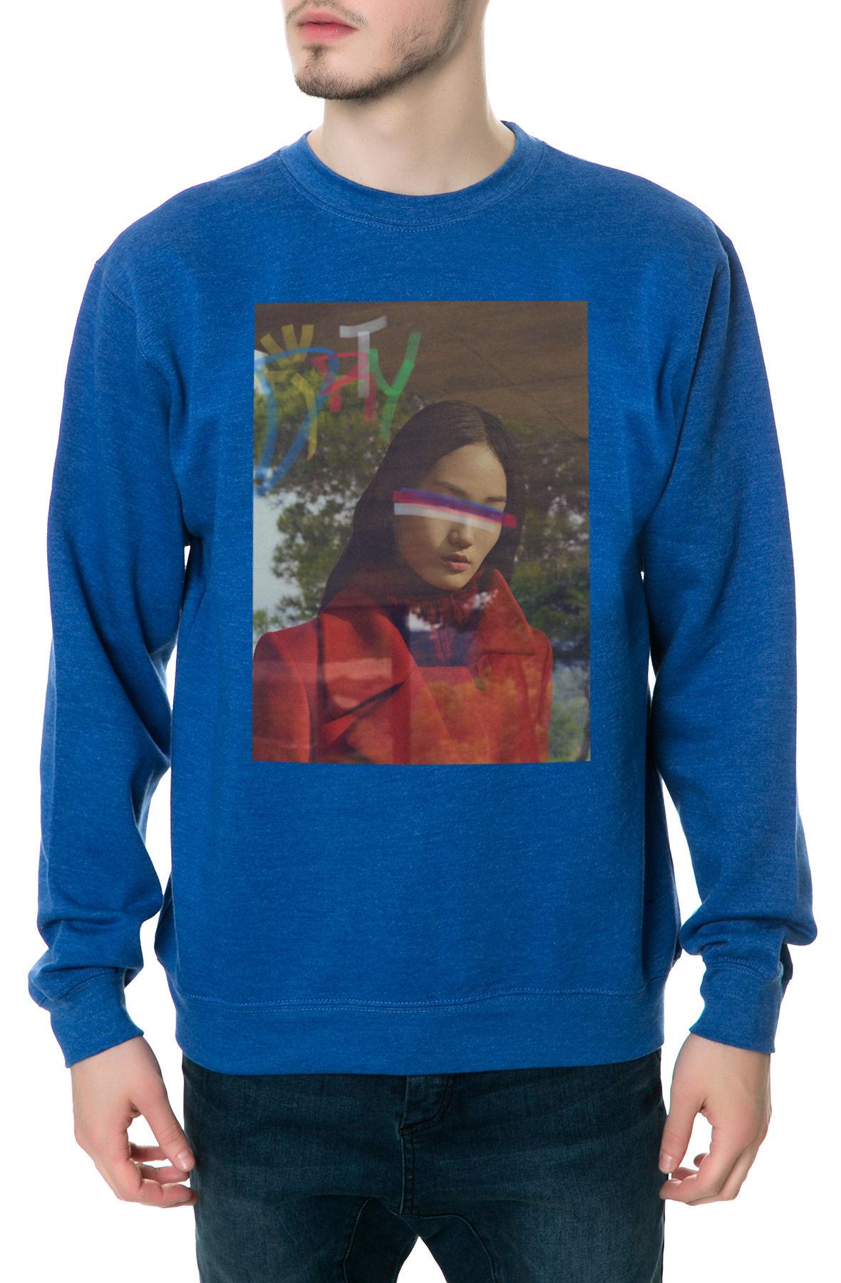 The Lust 70 Crewneck Sweatshirt in Royal Blue