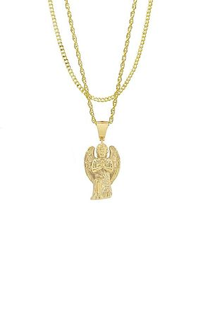 The Cherub Necklace - Gold