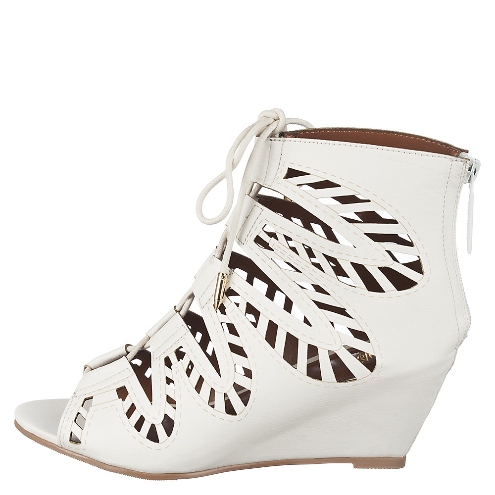 Women's Couture Lace-Up Wedge Sandal