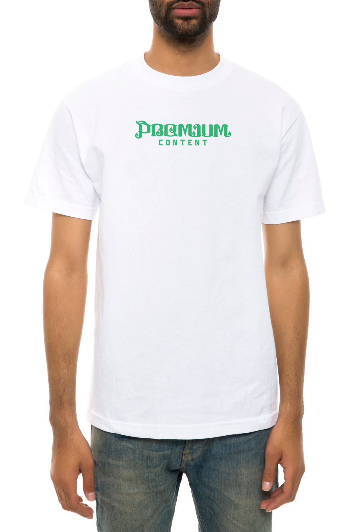 The One Night Tee in White
