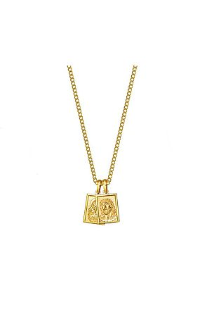the mister scapular necklace - gold